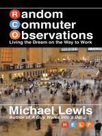 Random Commuter Observations (RCOs)