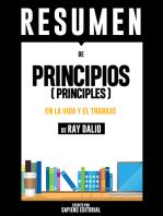 """Resumen De """"Principios (Principles)"""