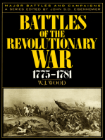 Battles of the Revolutionary War, 1775–1781