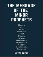 The Message of the Minor Prophets