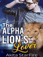 The Alpha Lion's Lover:MM Alpha Omega Fated Mates Mpreg Shifter