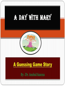 A Day With Mary:A Guessing Game Story: Children's Story Books