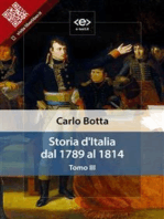 Storia d'Italia dal 1789 al 1814. Tomo III