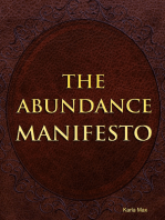 The Abundance Manifesto