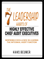 The 7 Leadership Habits of Highly Effective Chief Audit Executives - Inspiring Excellence in Leading the Internal Audit Function