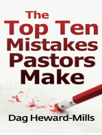 The Top Ten Mistakes Pastors Make