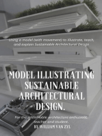 Model Illustrating Sustainable Architectural Design.
