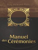 Manuel des cérémonies