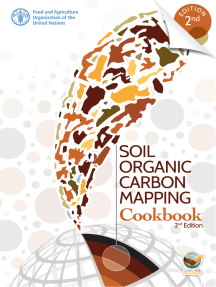 Soil Organic Carbon Mapping Cookbook: 2nd Edition