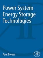 Power System Energy Storage Technologies