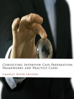 Consulting Interview Case Preparation