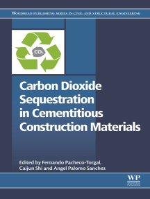 Carbon Dioxide Sequestration in Cementitious Construction Materials