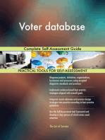 Voter database Complete Self-Assessment Guide
