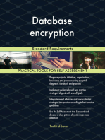 Database encryption Standard Requirements