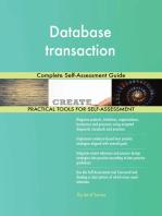 Database transaction Complete Self-Assessment Guide