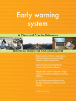 Early warning system A Clear and Concise Reference