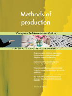 Methods of production Complete Self-Assessment Guide
