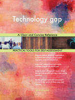 Technology gap A Clear and Concise Reference