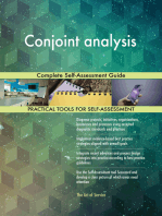 Conjoint analysis Complete Self-Assessment Guide