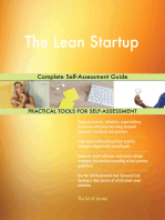 The Lean Startup Complete Self-Assessment Guide
