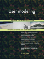 User modeling Complete Self-Assessment Guide