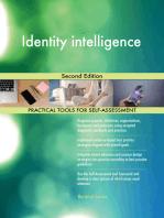 Identity intelligence Second Edition