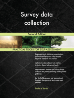 Survey data collection Second Edition