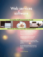 Web services software Complete Self-Assessment Guide