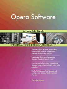 Opera Software A Complete Guide