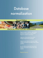 Database normalization Second Edition