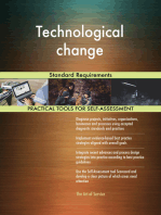Technological change Standard Requirements