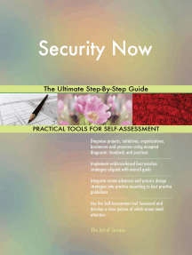 Security Now The Ultimate Step-By-Step Guide