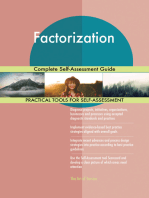 Factorization Complete Self-Assessment Guide