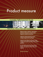 Product measure Complete Self-Assessment Guide