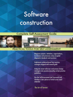 Software construction Complete Self-Assessment Guide
