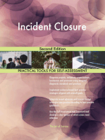 Incident Closure Second Edition
