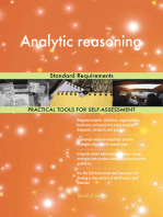 Analytic reasoning Standard Requirements