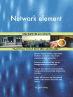 Network element Standard Requirements