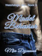 Model Behavior (Watchdogs, Inc., Book 3)
