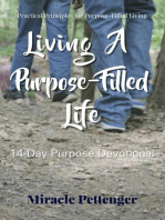 Living A Purpose-Filled Life