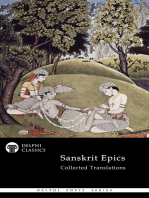 Delphi Collected Sanskrit Epics (Illustrated)