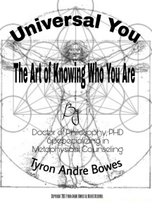 Universal You The Art of Knowing Who You Truly Are
