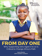 From Day One: Why Supporting Girls Aged 0 to 10 Is Critical to Change Africa's Path