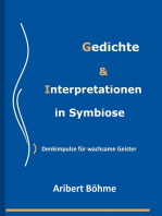 Gedichte & Interpretationen in Symbiose