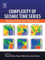 Complexity of Seismic Time Series: Measurement and Application