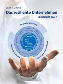 Das resiliente Unternehmen: Earned not given