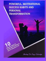 Powerful, Motivational Success Habits and Personal Transformation