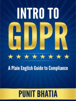 Intro to GDPR