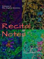 Recital Notes, Volume 2