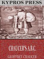 Chaucer's A.B.C.